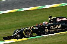 Formel 1 - Mini-Erfolg für Lotus