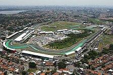 Formel 1 Brasilien - Streckenvorschau: Buckelpiste Interlagos
