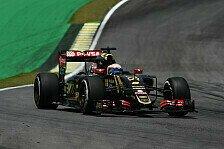 Formel 1 - Herbe Enttäuschung für Lotus