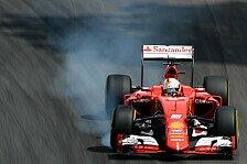 Formel 1 - Vettel trotz Schnitzers erster Mercedes-Jäger