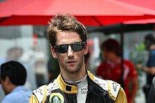Formel 1 - Lotus von Grosjeans Entschlossenheit beeindruckt