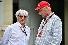 Formel 1 - Ecclestone: Red Bull kündigte Renault für Mercedes