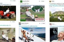 Formel 1 - Alonso und Button - die besten Sprüche 2015