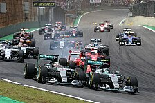 Übersicht: Formel-1-Rennkalender 2017