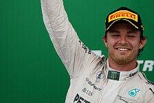 Formel 1 - Brasilien GP: Rosberg siegt vor Hamilton