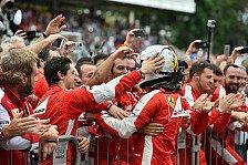 Formel 1 - Wunder von Maranello: Ferrari greift Mercedes an