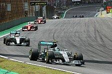 Formel 1 - Wolff: Mercedes spielt nicht mit der Konkurrenz