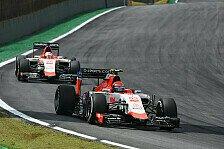 Formel 1 - Manor Vorschau: Abu Dhabi GP