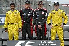 Formel 1 - Rookie-Jahrgang 2005: Wer bleibt? Wer muss gehen?