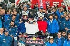 WRC - 12 aus 13: VW setzt Saison in Wales die Krone auf