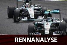 Formel 1 - Analyse: Hamiltons aussichtsloser Kampf