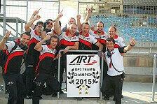 Mehr Motorsport - Historischer Triumph für ART Grand Prix