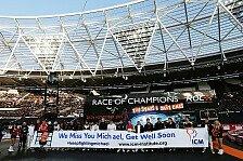 Formel 1 - RoC-Stars wünschen Michael Schumacher alles Gute