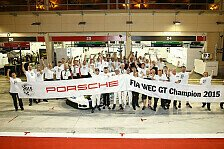 WEC - Bahrain: Porsche sahnt im GT-Bereich ab