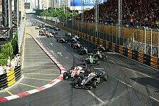 Macau GP 2017: Teams und Fahrer für F3, GT-Weltcup und Motorrad