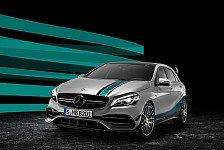 Auto - Sondermodell des Mercedes-AMG zum Weltmeistertitel
