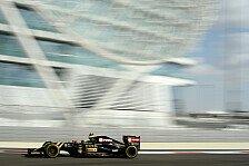 Formel 1 - Maldonado: Renault-Rausschmiss kam unerwartet