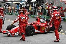 Formel 1 - Ferrari betont die positiven Seiten