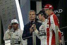 Formel 1 - David Coulthard über F1-Regeln und Reifen