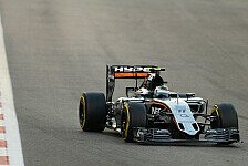 Formel 1 - Platz 5 und 7: Force India überzeugt in Abu Dhabi