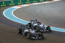 Live-Ticker: Freies Training Abu Dhabi GP mit Nico Rosberg und Lewis Hamilton