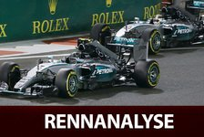 Formel 1 - Rennanalyse: Hamiltons Taktik geht nicht auf
