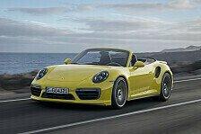 Auto - Porsche präsentiert neuen 911er Turbo in Detroit