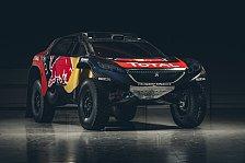 Dakar - Peugeot präsentiert Design für Dakar 2016