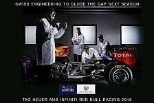 Formel 1 - Red Bull 2016 mit TAG-Heuer-Motoren