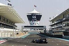 GP2 - Latifi schließt GP2-Testtag in Abu Dhabi auf P1 ab