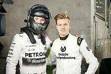 Nico Rosberg: Druck auf Mick Schumacher ist heftig