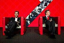 Formel 1 - Bescherung: Coole Ferrari-Sessel für Kimi und Seb