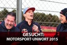 Formel 1 - Gesucht: Das Motorsport-Unwort des Jahres