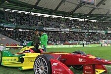 Formel E - Rennen in Uruguay: Smalltalk aus dem Fahrerlager