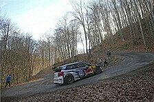 WRC - VW absolviert Testfahrten für Rallye-WM-Auftakt
