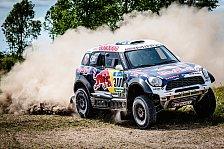 Dakar - Zwölf Mini bei Rallye Dakar