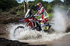 Dakar - Honda feiert Dreifachsieg bei 3. Dakar-Etappe