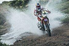 Dakar - Honda dominiert auch 4. Dakar-Etappe