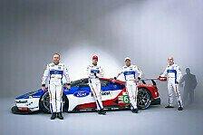 WEC - Ford präsentiert Aufgebot für Le-Mans-Comeback