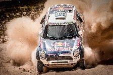 Dakar - Spektakulärer Unfall von Loeb