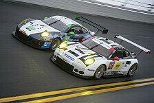 USCC - Video: Porsche testet neue GT-Renner für Daytona