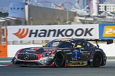 Mehr Sportwagen - Dontje in Dubai: Pech im neuen Mercedes