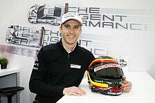 ADAC GT Masters - Timo Bernhard zum Start des KÜS Team75 Bernhard