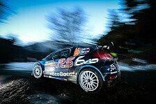 WRC - Video: Evans rammt Kubica von der Strecke