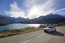 WRC - Rallye Monte Carlo: Ogier erobert Führung