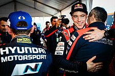 WRC - Neuville: Erleichterung nach Monte-Carlo-Podium