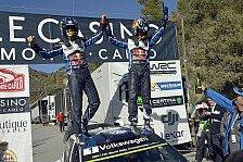 WRC - Ogier unschlagbar: Monte-Sieg Nummer 3