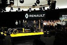 Formel 1 - Die Antworten zur Renault-Präsentation