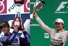 Formel 1 - Weltmeister 2016: Rosberg auf Hills Spuren?