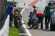 MotoGP - Baz-Horrorsturz: 30g beim Einschlag!